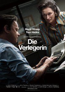 Kinoplakat Die Verlegerin