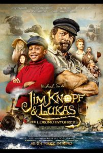 Plakat Jim Knopf & Lukas der Lokomotivführer